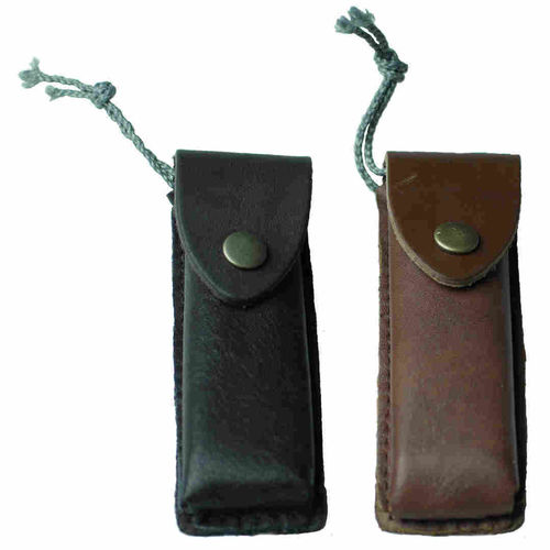 Backwood Stone in Leather Sheath